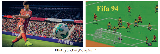 -پیشرفت گرافیک بازی FIFA