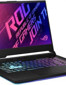 لپ تاپ ایسوس ۱۶ اینچی مدل ROG Strix G512LI با پردازنده i7 رم ۱۶GB حافظه ۵۱۲GB SSD گرافیک ۴GB