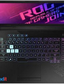 لپ تاپ ایسوس ۱۵ اینچی مدل ROG Strix G512LI پردازنده Core i7 رم ۳۲GB حافظه ۱TB SSD گرافیک ۴GB